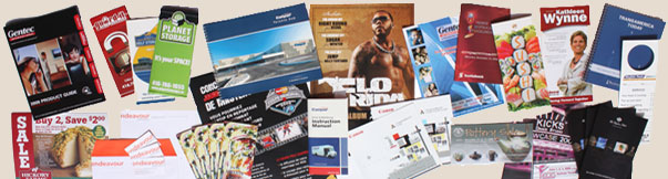 Booklets, Newsletters, Sell Sheets, Brochures, Business Cards...